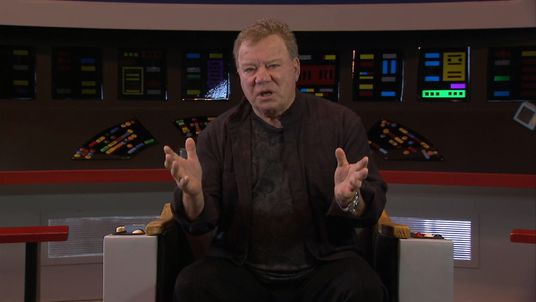 William Shatner talks to Sky News in Birmingham where a big Star Trek convention is marking 50 years since it first appeared on screen.
