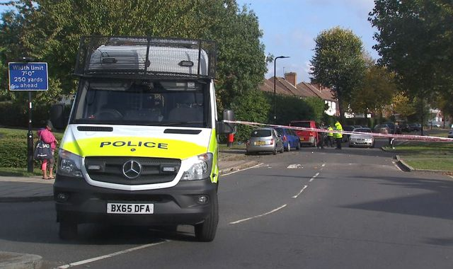 Third day of stand-off as Northolt homes evacuated over 'hazardous items'