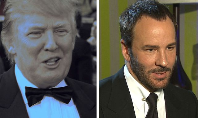 Director Tom Ford says 'Trump is proof America has dumbed down'