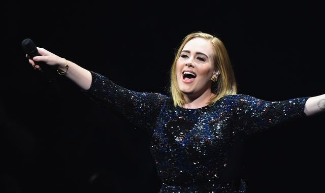 Clinton 'thrilled' after Adele tells fans 'don't vote' for Trump