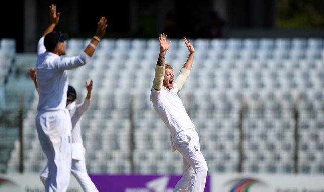 England win Bangladesh Test by 22 runs