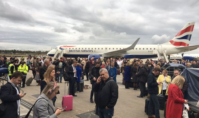 CS gas spray found after London City Airport evacuated
