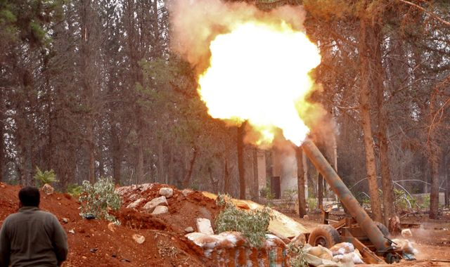 Rebels launch onslaught to break siege in beleaguered Aleppo