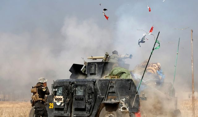 Battle for Mosul: Islamic State launches counter attack in Kirkuk