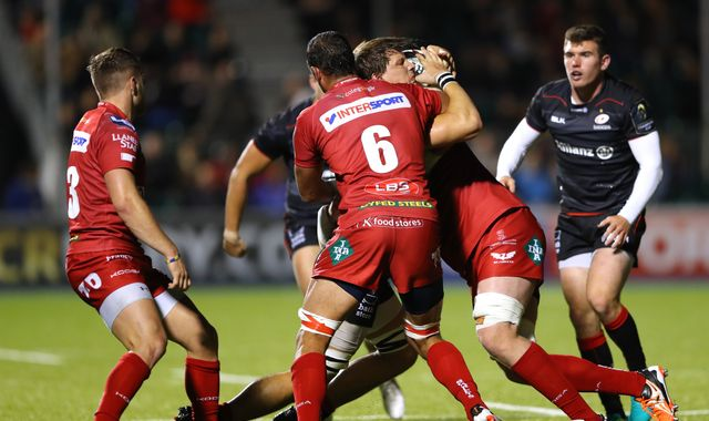 Saracens see off Scarlets in Champions Cup