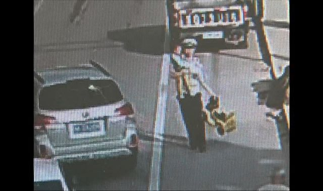 Toddler rides his mini bike into traffic, saved by a police officer