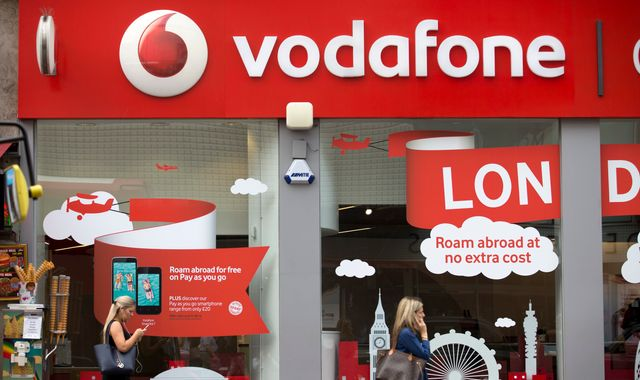 Vodafone fined £4.6m by Ofcom for breaking customer rules