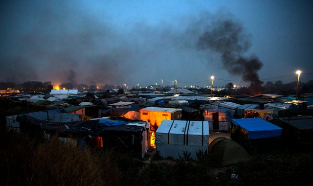 Demolition day: Bulldozers to begin work in Calais 'Jungle'