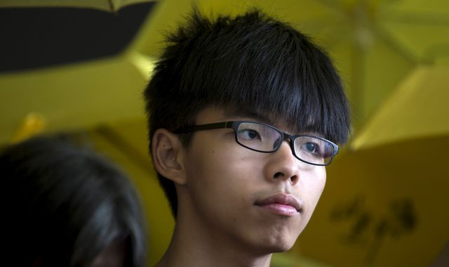Hong Kong activist Joshua Wong held in Thailand 'at China's request