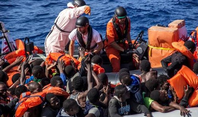 Bodies of 25 migrants found trapped in boat off Libyan coast