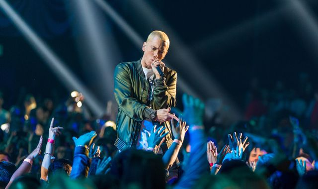 Eminem attacks 'loose cannon' Trump in new single