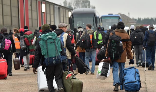 Defiant Calais migrant vows new bid to get to UK as camp set to shut