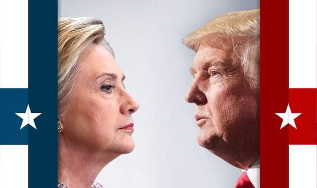 US election 2016: Clinton v Trump