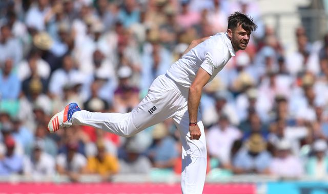 Anderson left out of Test squad for India