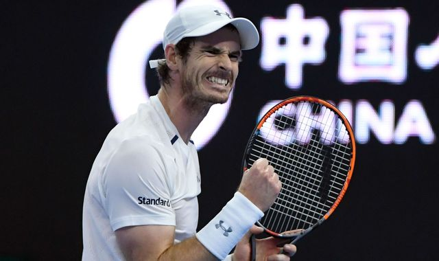 Murray chalks up 40th career title in Beijing