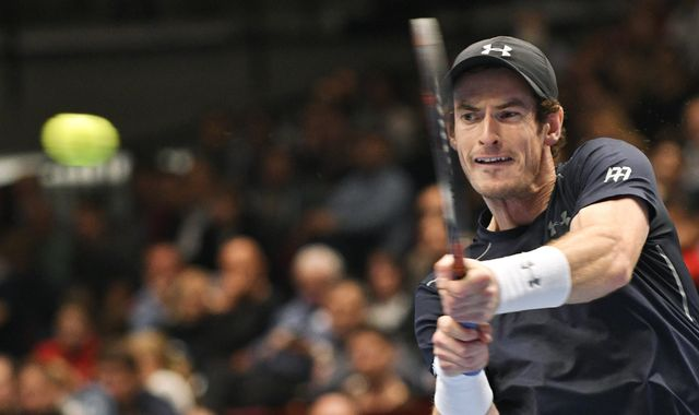 Murray wins Vienna opener against Klizan