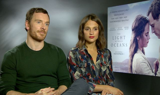 Fassbender likes to 'leave people and technology behind'