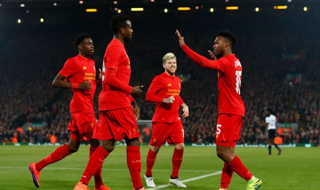 Reds beat Spurs to reach EFL quarter-finals