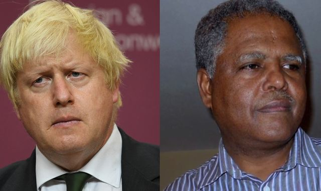 Johnson 'not helping' Briton held on death row in Ethiopia