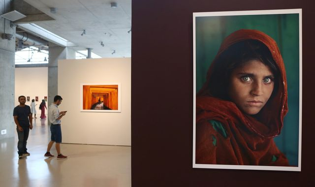 National Geographic 'Afghan Girl' cover star faces jail for fraud