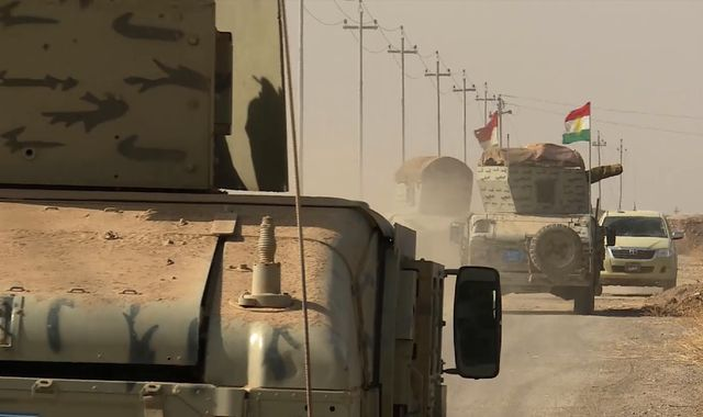 The road to Mosul: 'The Humvee we parked beside disappeared in a mushroom cloud'
