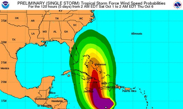 Jamaicans take shelter over category 4 Hurricane Matthew