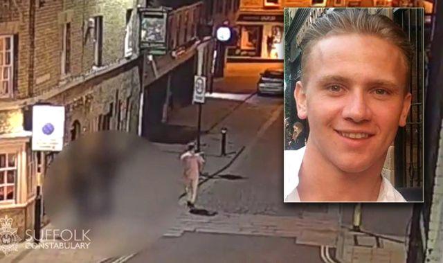 Missing RAF serviceman Corrie McKeague's mum 'desperate' to find him