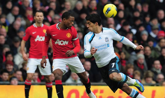 Evra names old rival Suarez 'the best No 9'