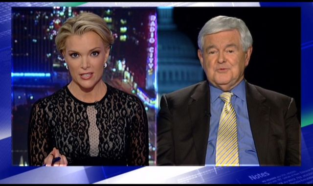 Megyn Kelly 'fascinated with sex', Newt Gingrich claims