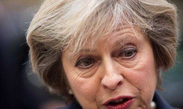 UK's May tries to reassure European Union on Brexit
