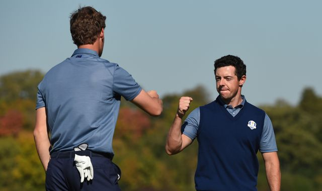 McIlroy and Pieters to lead Europe's foursomes