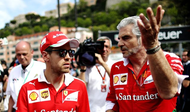 Vettel 'on the same page' as Arrivabene