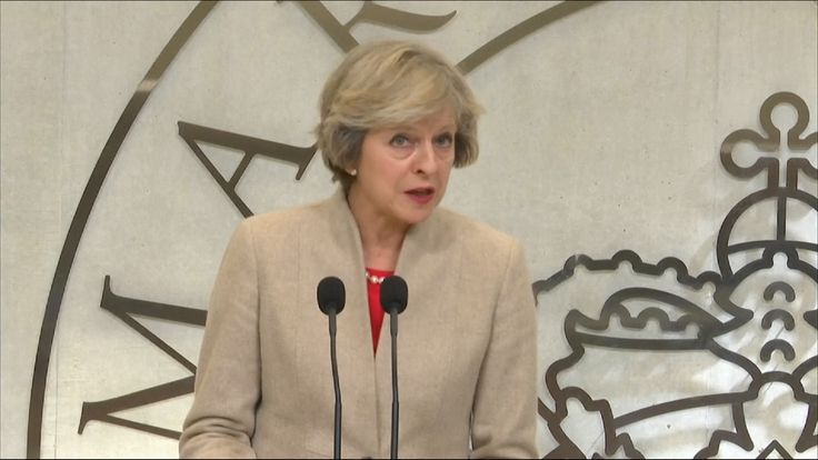 Theresa May hopes for a smooth Brexit