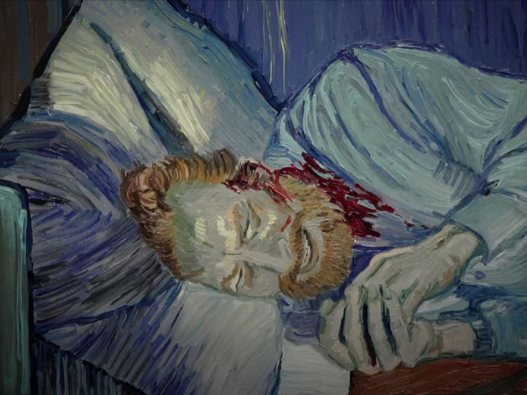 Van Gogh Art Brought To Life In Animated Film