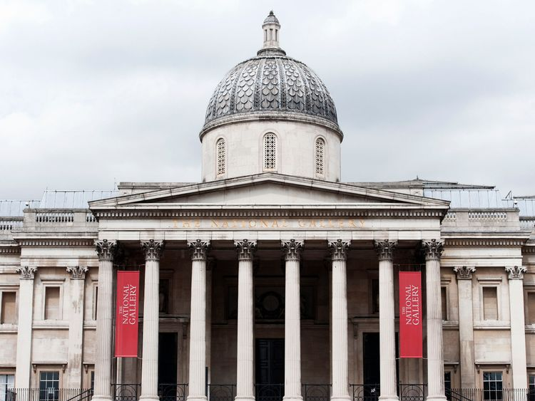 Gainsborough painting attacked at National Gallery