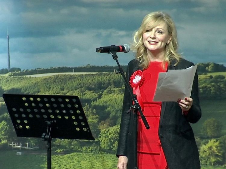 Tracy Brabin said her victory was 'bittersweet'