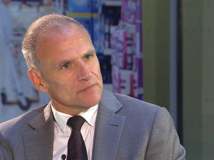 Tesco chief executive, Dave Lewis