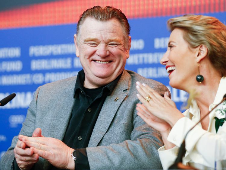 "Brendan Gleeson will star nearside Grant as ""Knuckles"" McGinty, a legendary strongman"