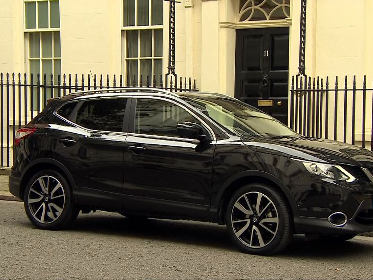 Carlos Ghosn's Nissan leaves Downing Street