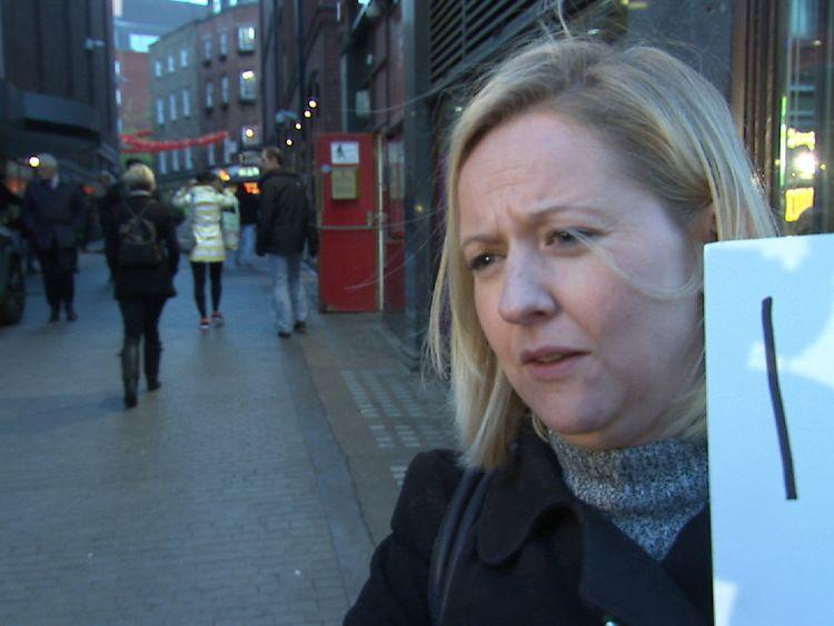 Nicole Drury talks to Sky News