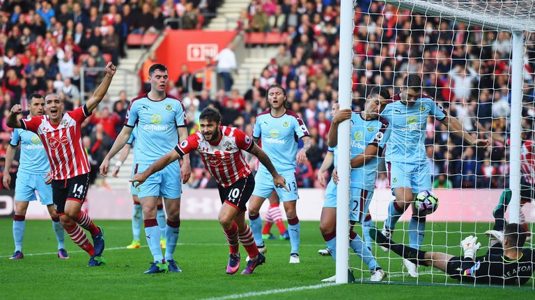 Highlights of Southampton's 3-1 win over Burnley at the weekend