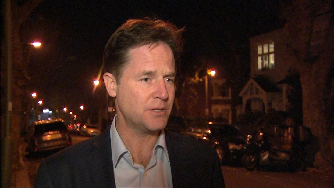 Nick Clegg talks about Boris Johnson and Brexit