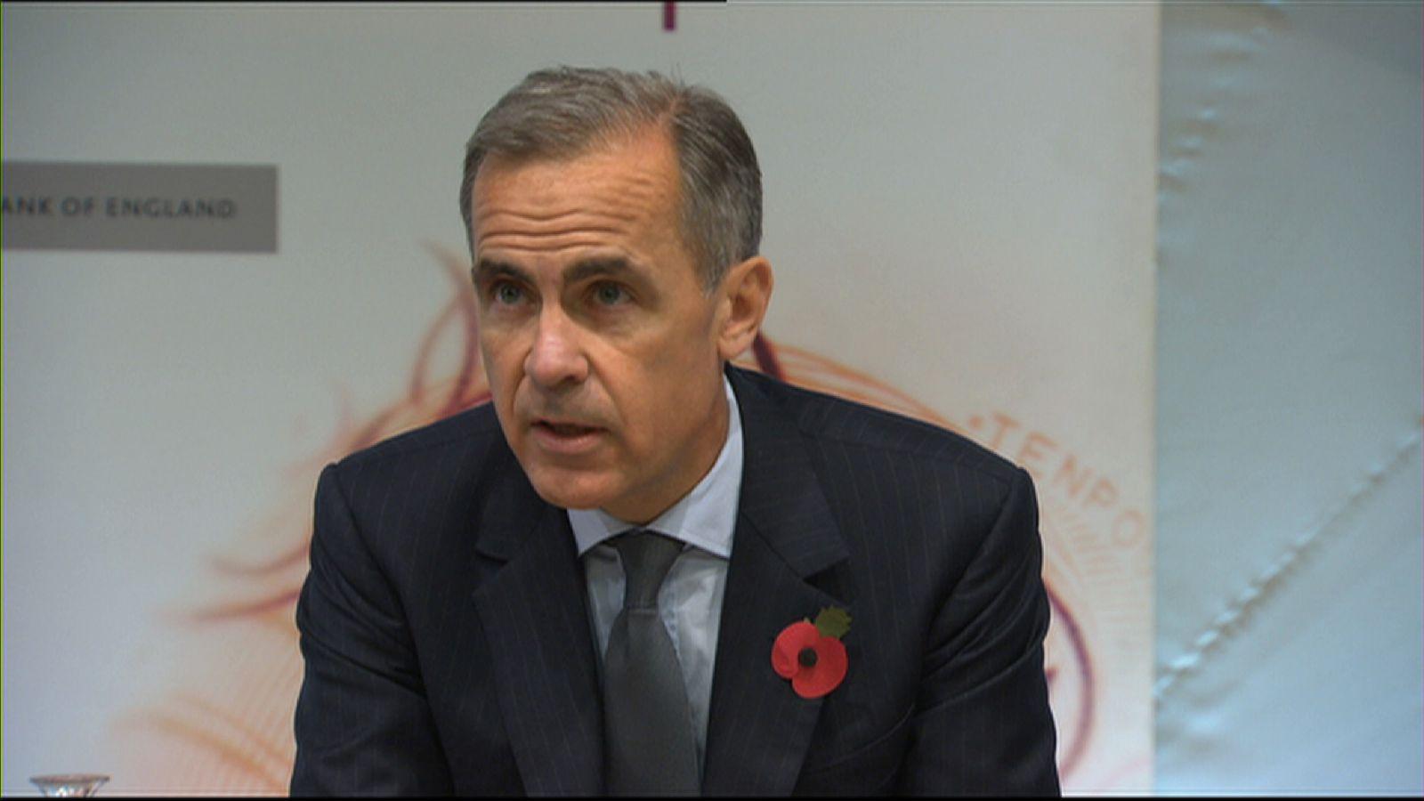 Mark Carney delivers November's Inflation Report