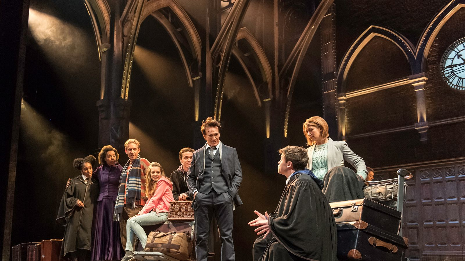 Oliviers: Harry Potter play makes theatre history