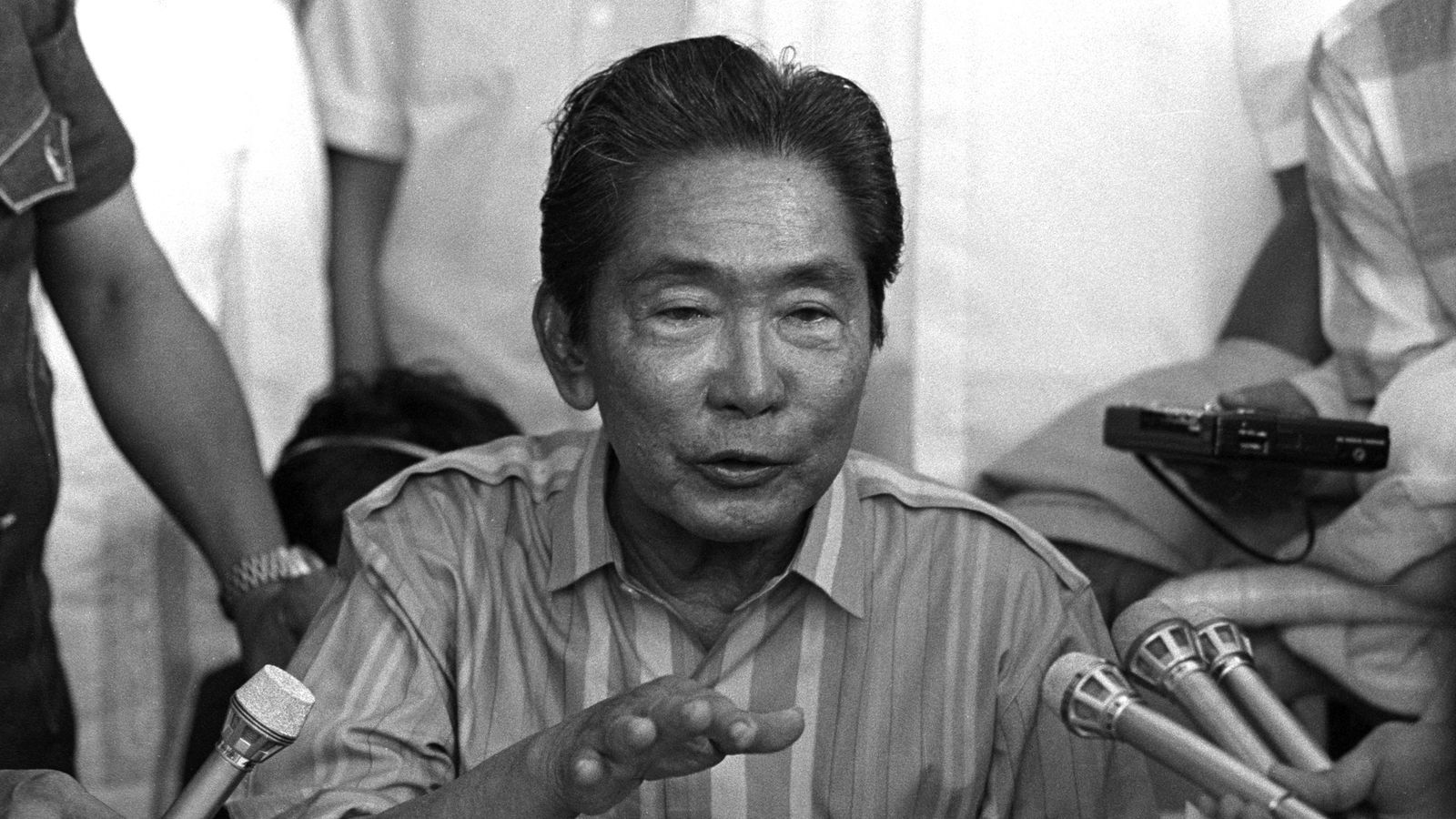 Why did the military support the Marcos dictatorship?