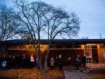 MILWAUKEE, WI - NOVEMBER 8: Voters wait in line at the polls to cast their ballot in the national election at Cannon Pavilion on November 8, 2016 in Milwaukee, Wisconsin. Americans are headed to the polls to vote for either Republican presidential candidate Donald Trump or Democratic presidential candidate Hillary Clinton and other members of Congress. (Photo by Darren Hauck/Getty Images)