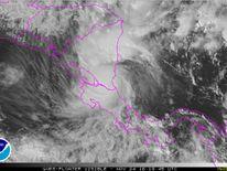 A National Hurricane Center satellite image of Hurricane Otto