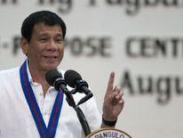 Philippine President Rodrigo Duterte is cracking down on the drug trade