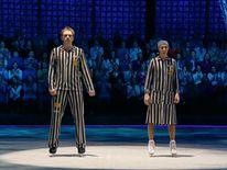 The performance drew international criticism