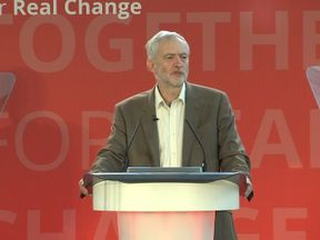 Jeremy Corbyn has launched a broadside against opponents
